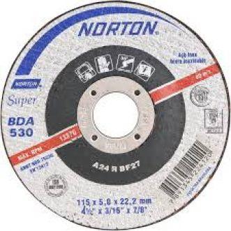 DISCO DE DESBASTE 115BDA530 SUPER PARA INOX - NORTON