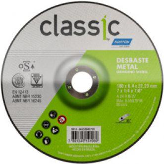DISCO DE DESBASTE 115BDA600 CLASSIC PARA ACO - NORTON
