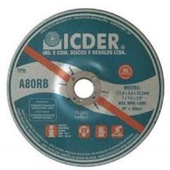 DISCO DE DESBASTE A80RB - ICDER
