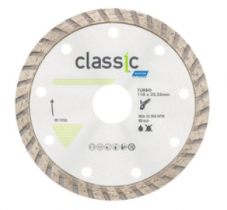 DISCO DIAMANTADO TURBO CLASSIC - NORTON