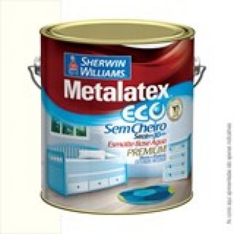ESMALTE BASE D AGUA  3,6L METALATEX ECO - SHERWIN WILLIAMS