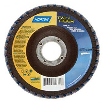 FLAP DISC TWINFIBER 115X22MM - NORTON