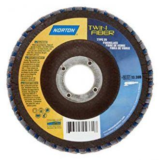 FLAP DISC TWINFIBER 180X22MM - NORTON