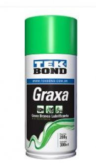 GRAXA SPRAY BRANCA BASE DE LITIO - TEKBOND