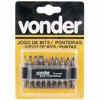 JOGO BITS P/PARAFUSADEIRA - VONDER