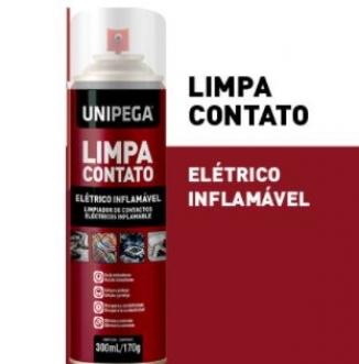 LIMPA CONTATOS ELETRICOS 300ML/170GR - UNIPEGA