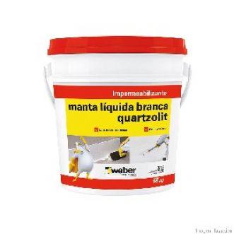 MANTA LIQUIDA BRANCA - QUARTZOLIT
