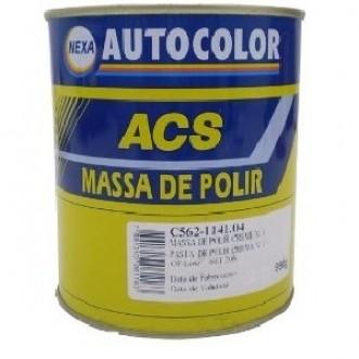 MASSA POLIR NR.1 BASE SOLVENTE 900GR - ACS
