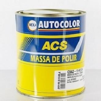 MASSA POLIR NR.2 BASE SOLVENTE 900GR - ACS