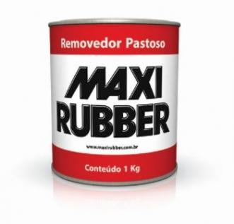 REMOVEDOR DE TINTAS PASTOSO 1KG - MAXI RUBBER
