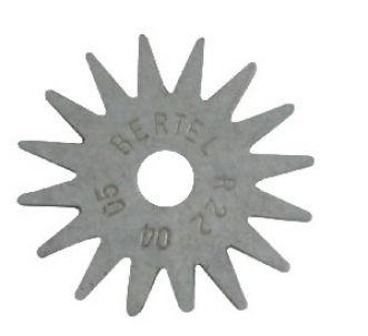 ROSETA RETIFICADORA (CX.20JGS) - BERTEL