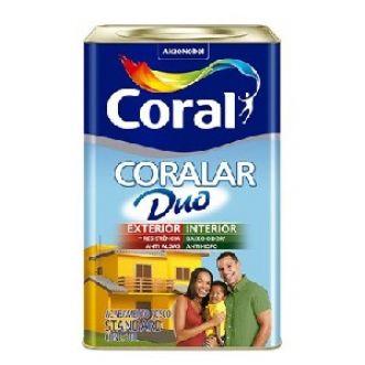 TINTA ACRILICA 18L CORALAR DUO - CORAL