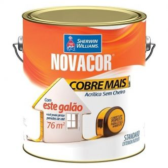 TINTA ACRILICA  3,6L NOVACOR COBRE MAIS - SHERWIM WILLIAMS