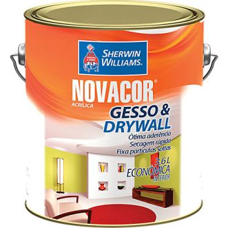 TINTA ACRILICA  3,6L NOVACOR GESSO   DRIWALL - SHERWIN WILLIAMS