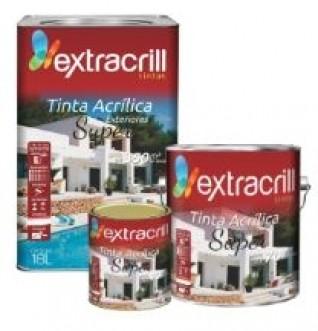 TINTA ACRILICA SUPER - EXTRACRILL