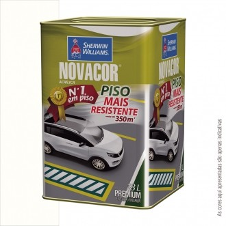 TINTA PISO PREMIUM 18L NOVACOR - SHERWIN WILLIAMS