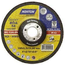 DISCO DE DESBASTE 100BDA54 SUPER PARA ACO - NORTON