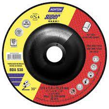 DISCO DE DESBASTE 115BDA630 CLEAN PARA INOX - NORTON