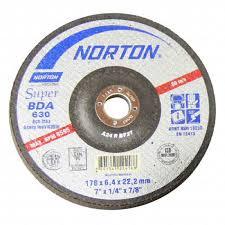 DISCO DE DESBASTE 180BDA630 - NORTON  - RANOVA - A maior variedade de itens MRO