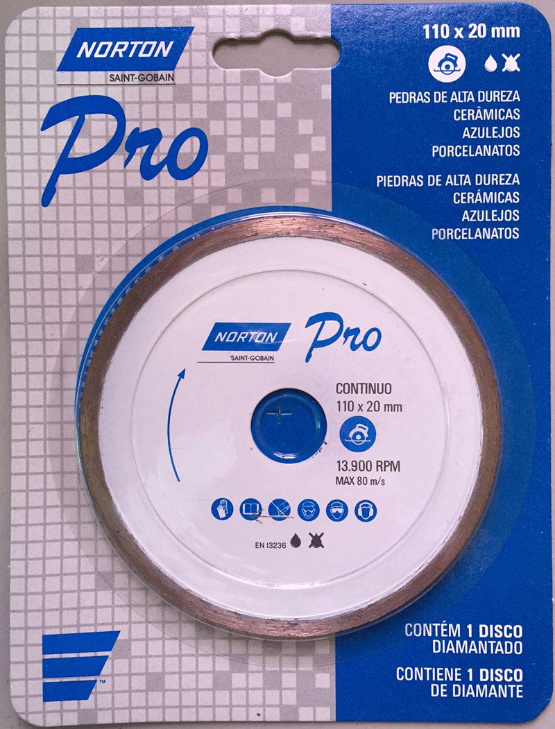 DISCO DIAMANTADO CONTINUO PRO - NORTON