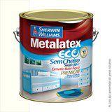 ESMALTE BASE D AGUA  3,6L METALATEX ECO - SHERWIN WILLIAMS