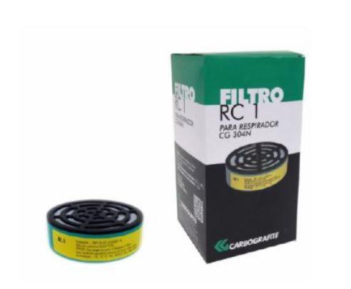 FILTRO P/RESPIRADOR CG-304 - CARBOGRAFITE