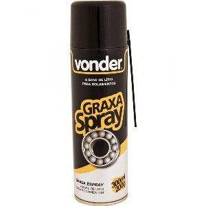 GRAXA SPRAY BRANCA BASE DE LITIO - VONDER