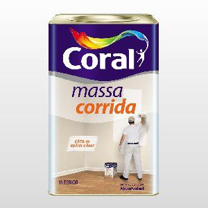 MASSA CORRIDA PVA LATA - CORAL