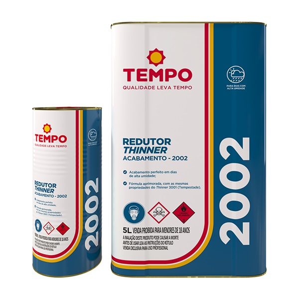 THINNER PRIMEIRA 2002 - TEMPO