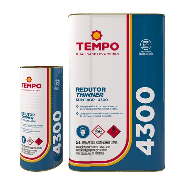 THINNER DILUENTE PU 4300 - TEMPO
