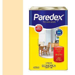 TINTA ACRILICA 18L - PAREDEX