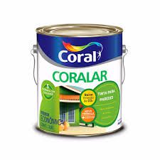 TINTA ACRILICA  3,6L  CORALAR - CORAL