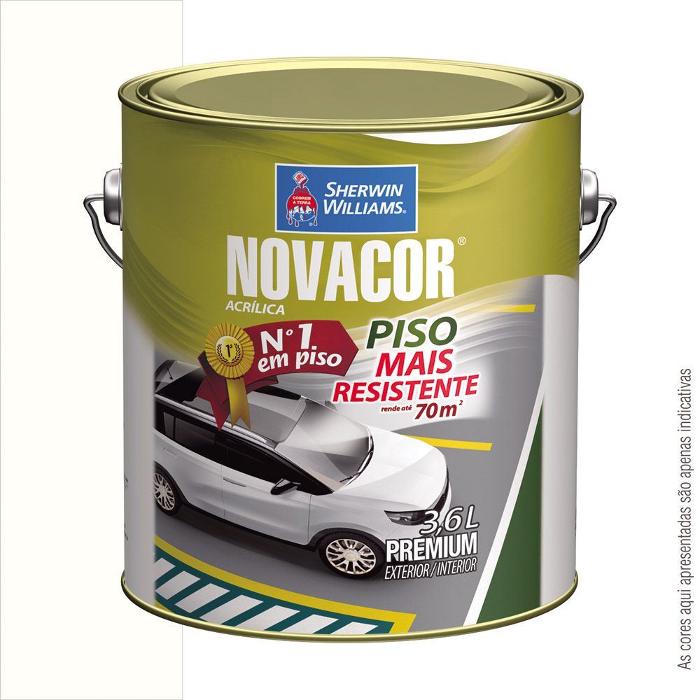 TINTA PISO 3,6L NOVACOR - SHERWIN WILLIAMS