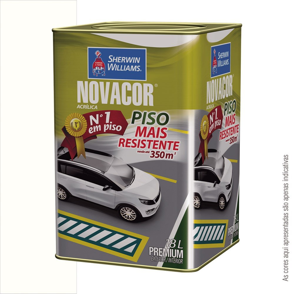TINTA PISO PREMIUM 18L NOVACOR - SHERWIN WILLIAMS  - RANOVA - A maior variedade de itens MRO