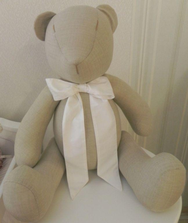 Urso tecido 70 cm