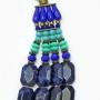 Colar Feminino | 5 Voltas em Resinas Importadas Resinas, ABS,  | Bijuteria Fina |CamargoMarkiori | CX-9408