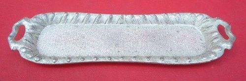 Antigo Baixela De Cha Em Miniatura Espessurado A Prata