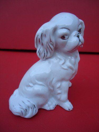 Lindo Cachorro Em Porcelana Numerada