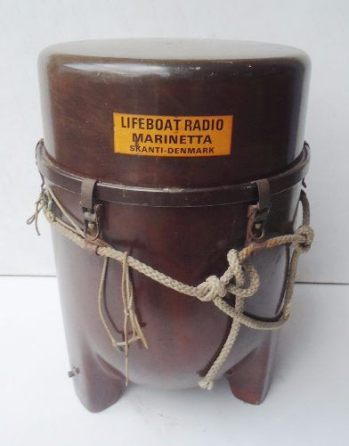 Antigo Radio Comunicador Nautico Marinette Dinamarca
