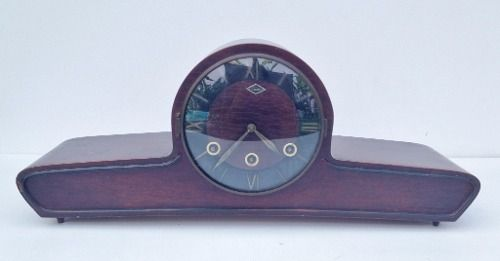 Antigo Relógio Carrilhão De Mesa Marca Emda