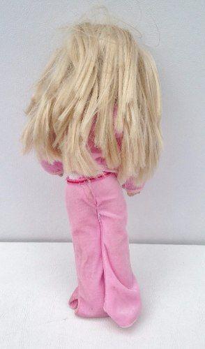 Boneca Roupa Rosa Corpo De Pano Mattel