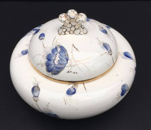Linda Compoteira Porcelana Weiss Antiga