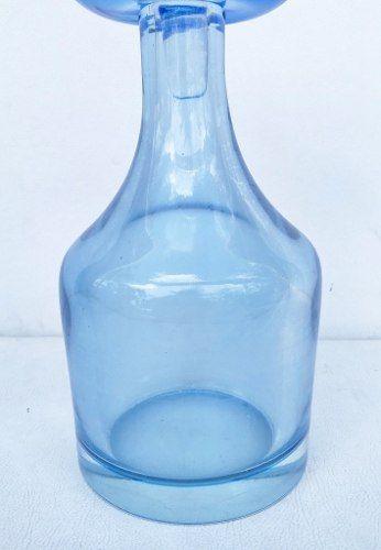 Antiga Garrafa Em Grosso Cristal 2,8kg