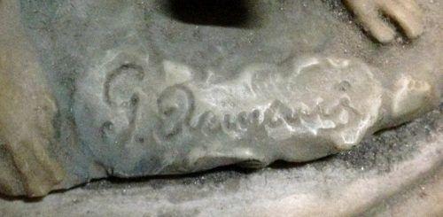 Antigo Grupo Escultorico Em Resina Assinado