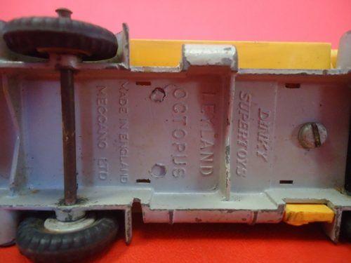 Caminhao Combustivel Meccano Leyland Octoupus Dink Supertoys