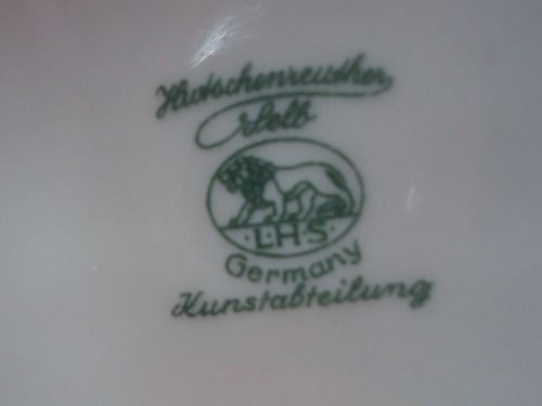 Magnifica Escultura Bailarina Hutschenreuther C. Werner 22cm