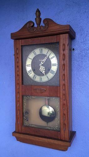 Espetacular Relógio De Parede Carrilhão Eska Funcionando