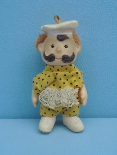 Brinquedo Boneco Estilo Europeu Antigo