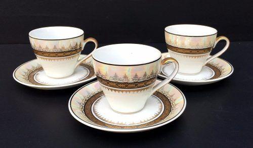 Três Xícaras De Café Steatita Belissimas