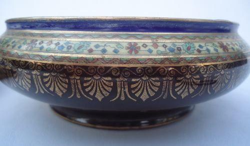 Antiga Compoteira Porcelana Czechoslovakia